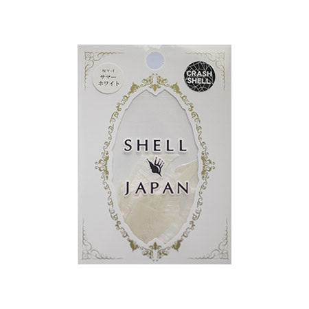 SHELL JAPAN Crashed Shell Summer White