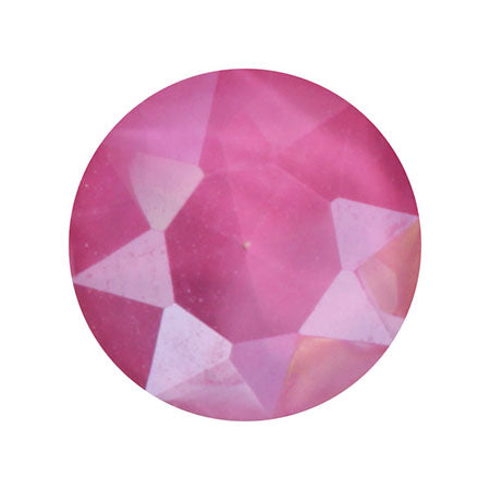SHAREYDVA Nail Accessories Sherbet Crystal Round Pink