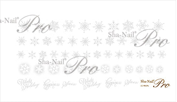 [10044]  Sha-Nail Plus Powdery Snow PO-PWH