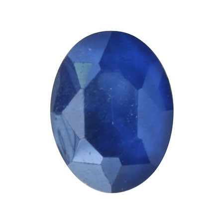 SHAREYDVA Nail Accessory Classic Stone Oval Blue