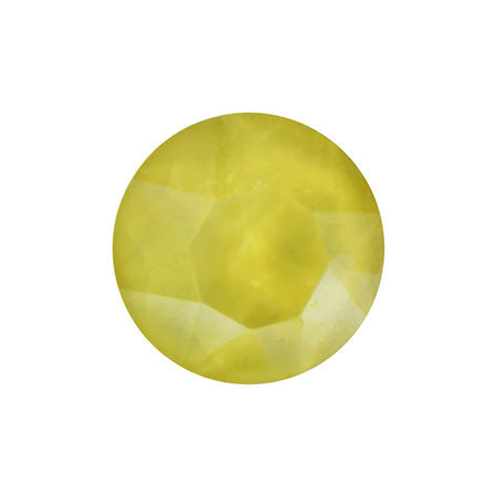 SHAREYDVA Nail Accessories Sherbet Crystal Round Yellow