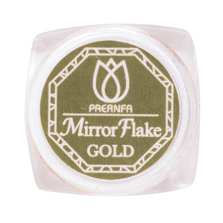 Pregel Mirror Flake Gold With Mirror Brush