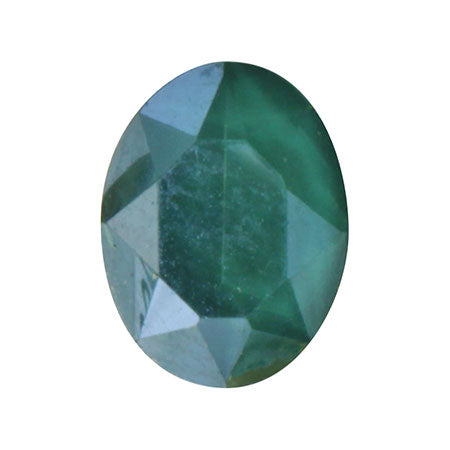 SHAREYDVA Nail Accessory Classic Stone Oval Green