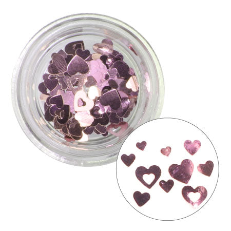 Charlon Inside Out Heart Mix Pink