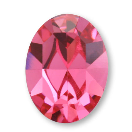 Swarovski Crystal Rose #4120 Oval type 8 × 6 mm 4P