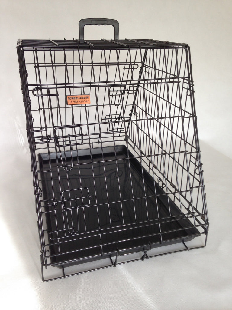 car crate for half boot (2) FREE VET BED