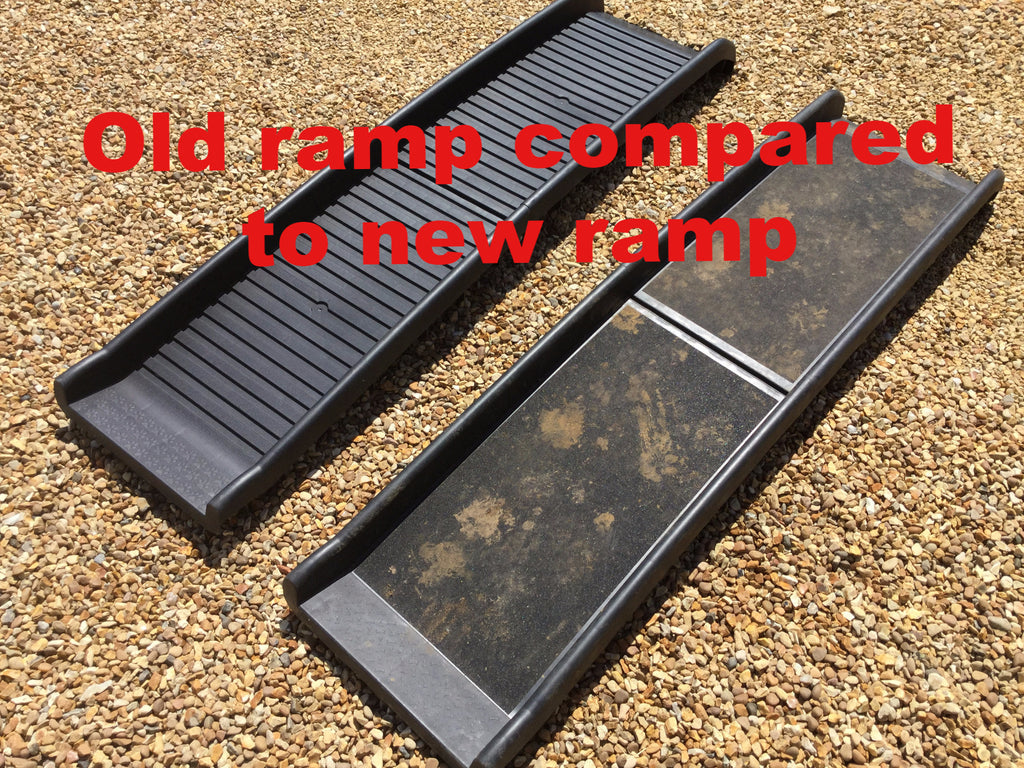 SUMMER OFFER Easipet safety dog ramp PLUS BOWL