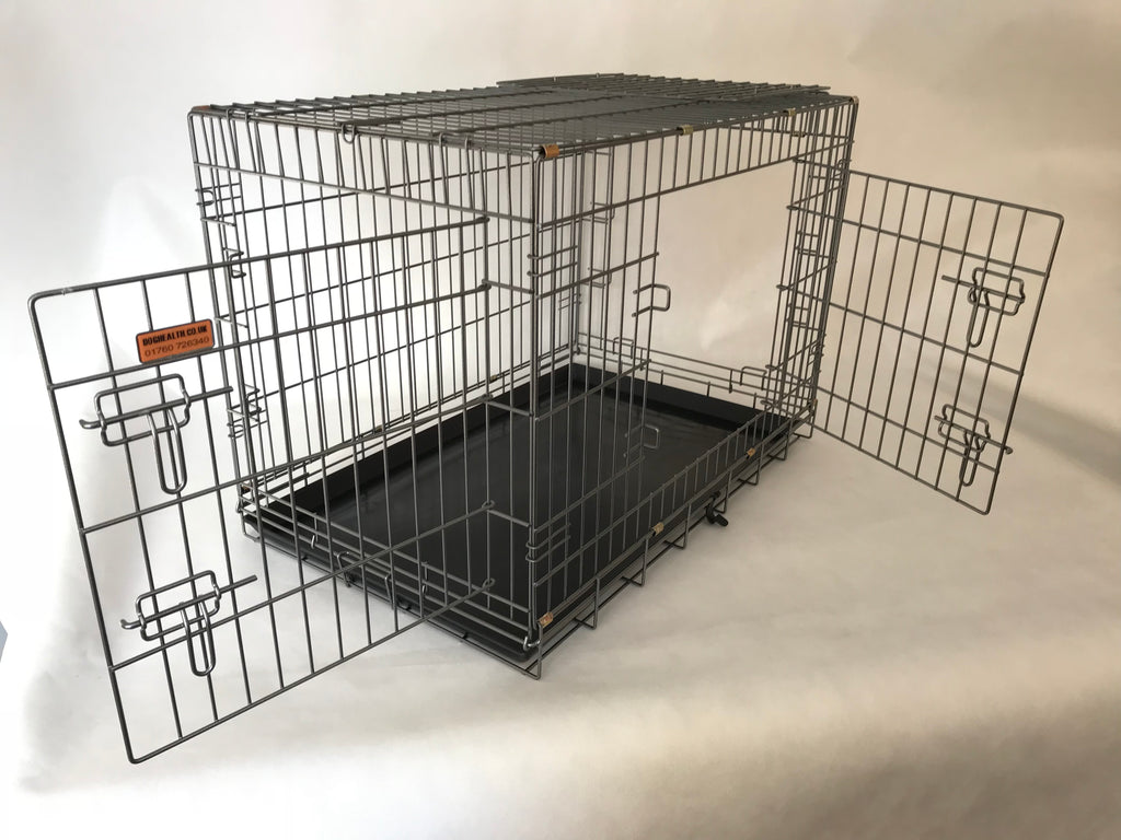 DogHealth 3 door bull breed cage WITH FREE VET BED