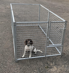 Premade Puppy run 2.4m x 2.4m