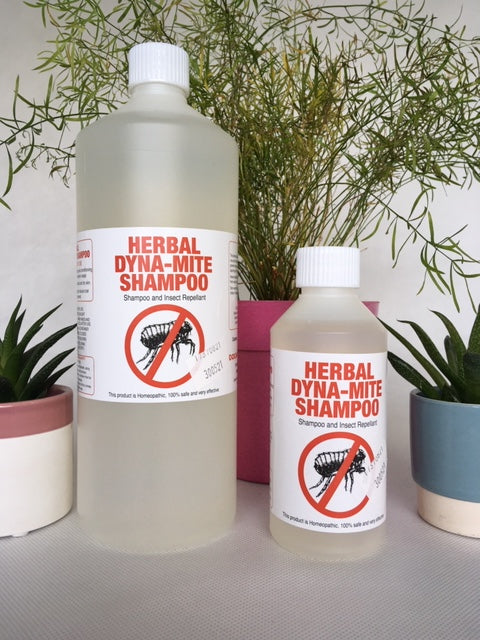 Dyna-mite Herbal Flea Shampoo New & Improved Formula