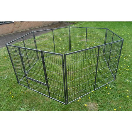 K6 - Giant 8ft x 4ft Best Selling Puppy Run _ FREE RUBBER MATTING