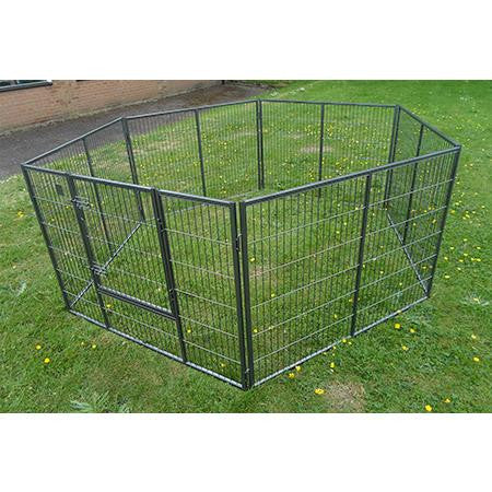 KT6 - Giant 8ft x 4ft Best Selling Puppy Run