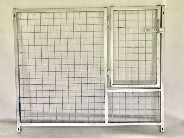 Economy galvanised puppy panels £25