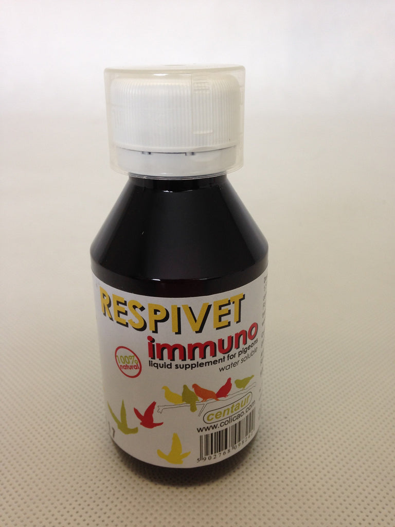 Respivet Immuno by Colicao for Racing Pigeons