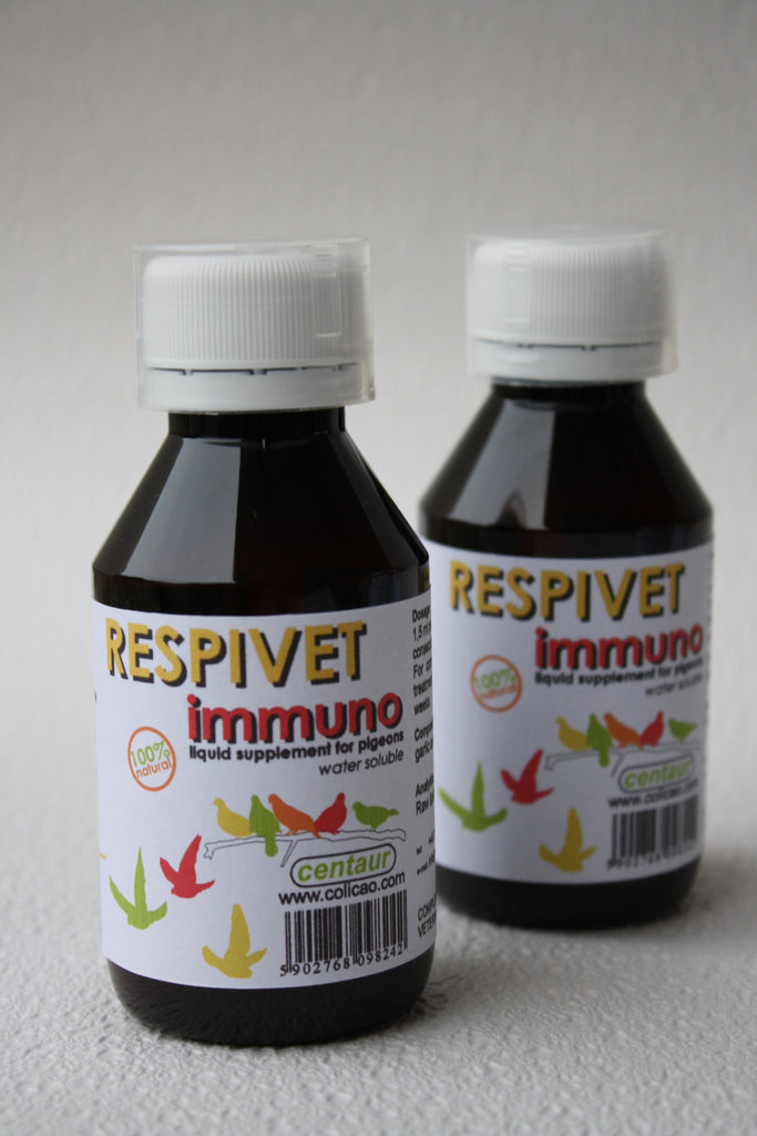 Respivet IMMUNO liquid garlic and eucalyptus