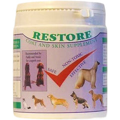 Restore for excellent coat and skin