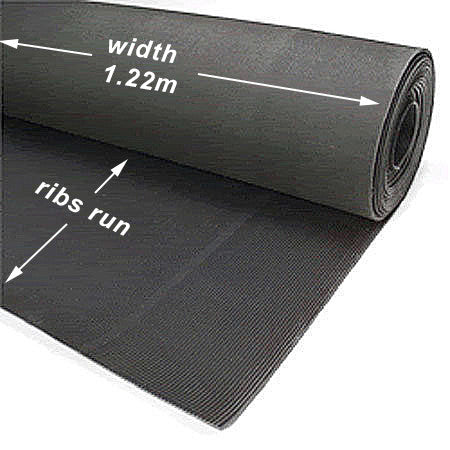 Rubber Matting 3mm - per roll