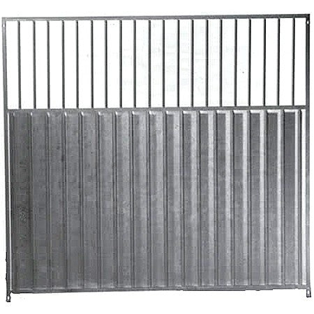Full & 3/4 solid Dog Run Galvanised panels