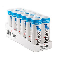 Thrive KIND & GENTLE 100% White Fish Tubes 12x15g