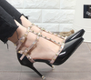 Luxury Hasp Rivet high-Heels - ida-trends