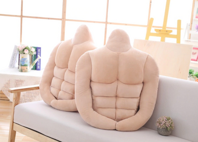 Boyfriend Pillow With Six-Pack Abs