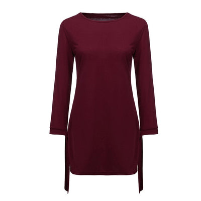 Fashion Women O Neck Elegant Dress