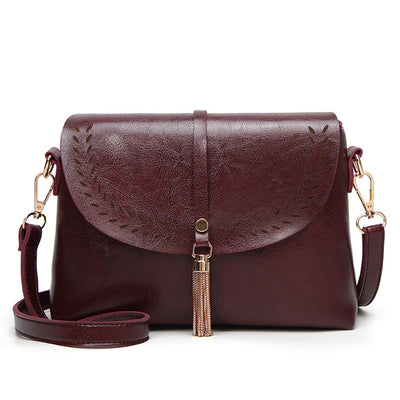 Vintage Leather Cross body Small Bag