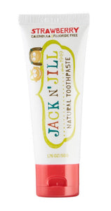 Jack N' Jill Natural Calendula Toothpaste Strawberry Flavor