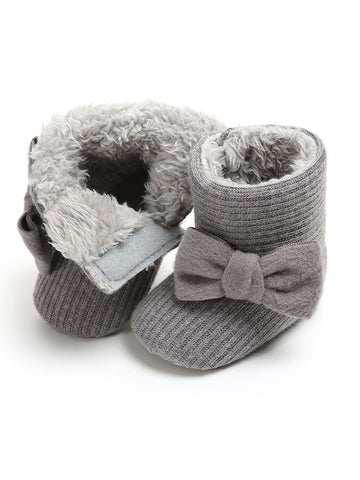 Itty Bitty Grey Booties