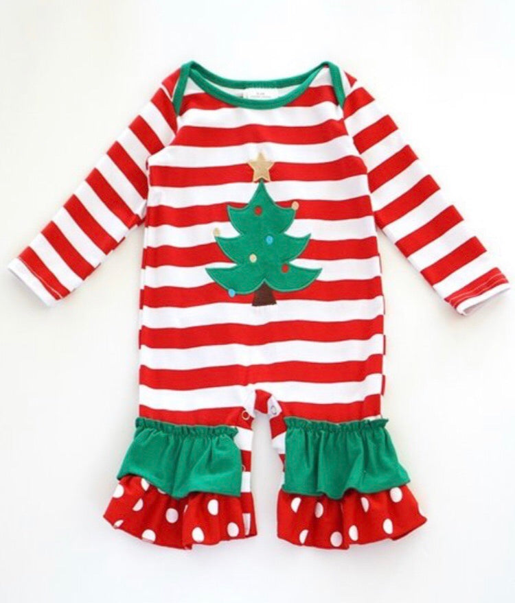 Oh Christmas Tree Romper