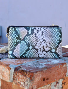 The Liz Bag Light Multi Snake