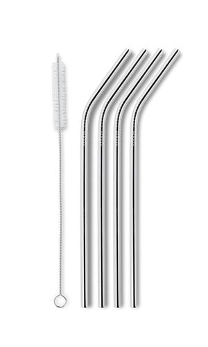 Reusable Drinking Straw – Silver