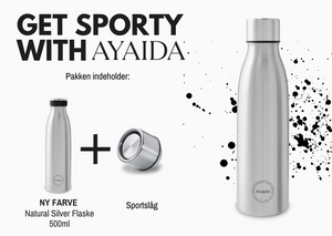 Get sporty with AYAIDA