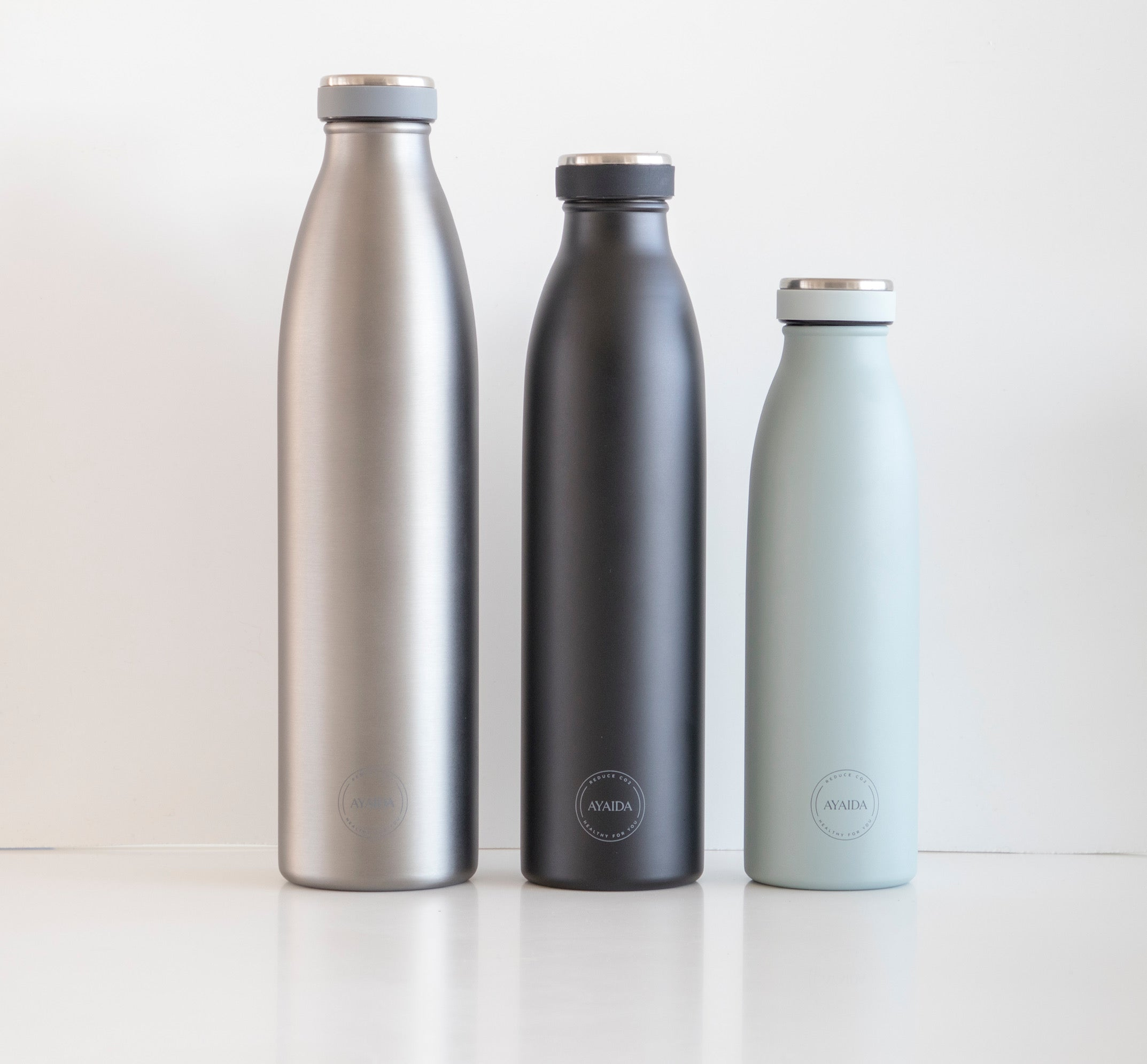 Drinking Bottle - Cool Grey - 750ML