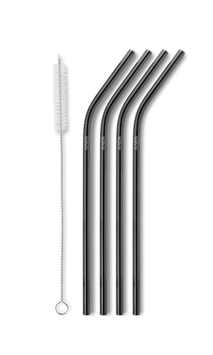 Reusable Drinking Straw – Black