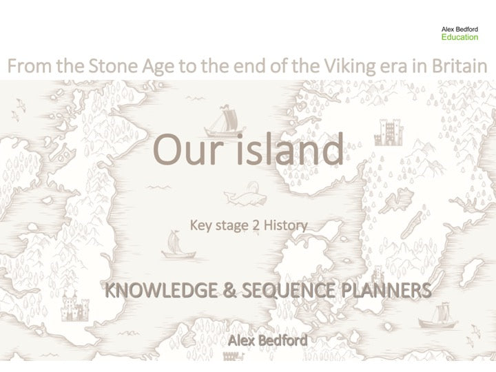Our Island: KS2 Knowledge and Sequence Planners