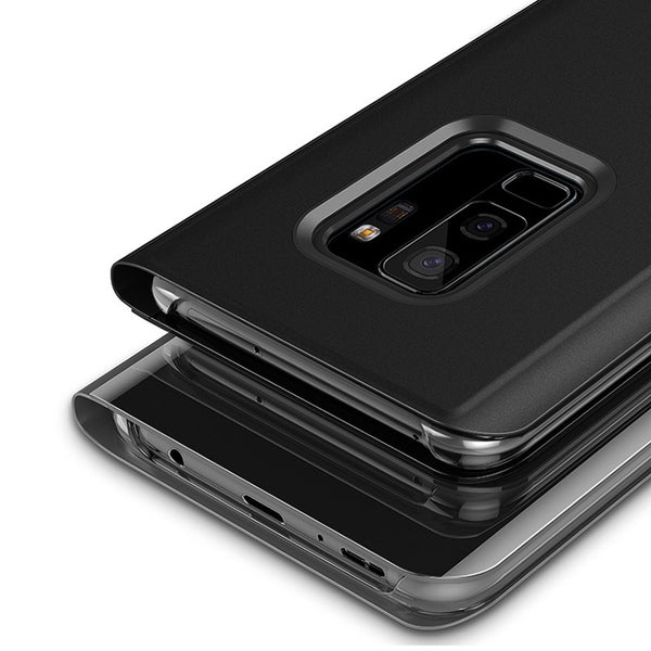 Smart sleep Flip Калъф за телефон за Case For S9 S9plus S8 S8plus Note8 S7 S7edge