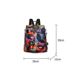 Waterproof Backpack Women Oxford Multifuction Bagpack