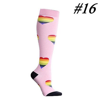 Compression Socks (1 Pair) for Women & Men#16