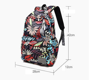 Print Hawaii Style Backpacks Travel Backpack