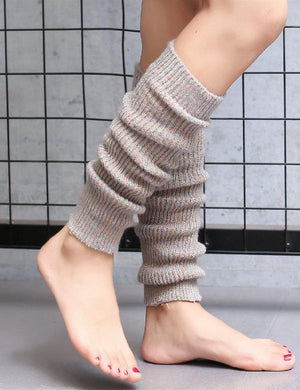 Women Solid Cotton Leg Warmer