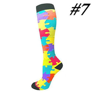 Compression Socks (1 Pair) for Women & Men#7