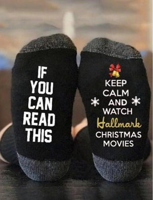 IF YOU CAN READ THIS KEEP CALM SOCKS