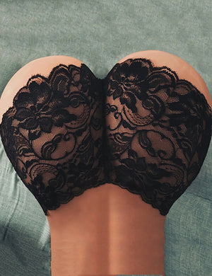 Floral Lace Seamless Panties