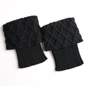 Women Boot Cuffs Leg Warmer Socks