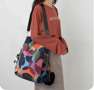 Cool Retro Multi-Functional Backpack-Pattern1