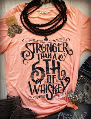 Stronger Than a Fifth of Whiskey Tank