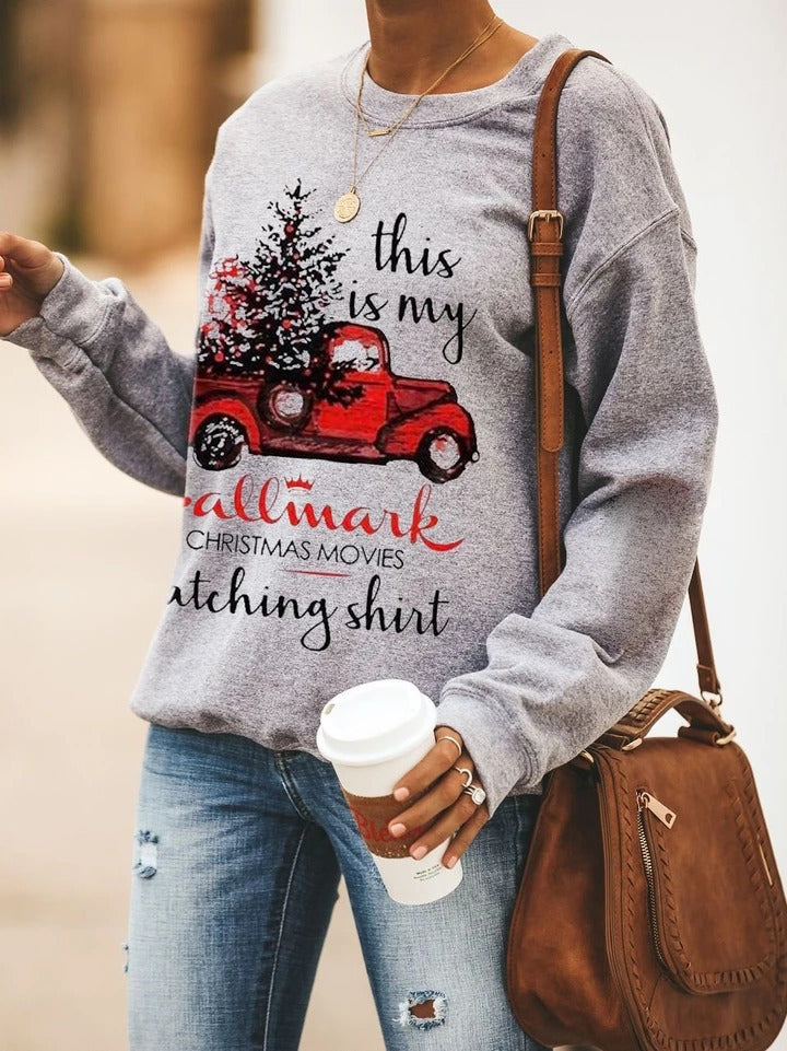 This Is My Hallmark Movies Watching Sweatshirt