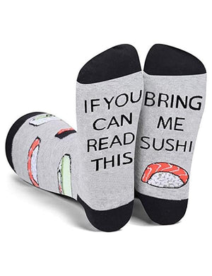 If You Can Read This Bring Me Beer Socks
