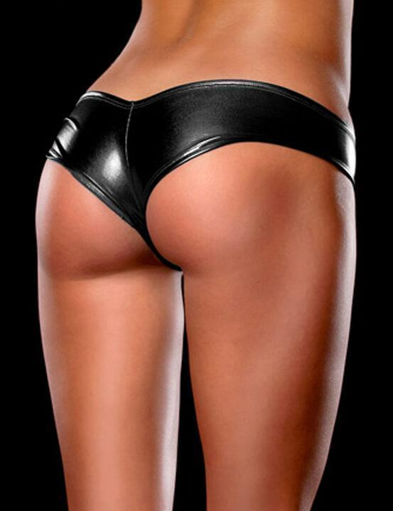 Shine Metallic Hot Panty